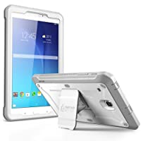 SUPCASE Galaxy Tab E 8.0 Case, Unicorn Beetle PRO Series Full-body Hybrid Protective Case with Screen Protector for Samsung Galaxy Tab E 8.0 Inch SM-T378/ SM-T375 / SM-T377 SM-T377W Tablet (White/Gray)