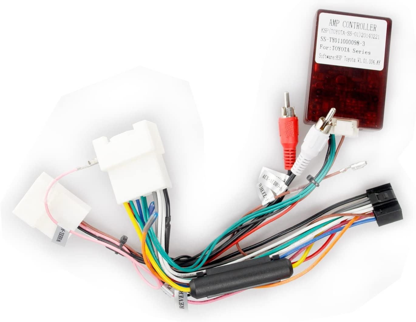 Amazon.com: hizpo Adapter Harness Fit for JBL Speakers System Car Stereo in Toyota  Camry Corolla RAV4: GPS & NavigationAmazon.com