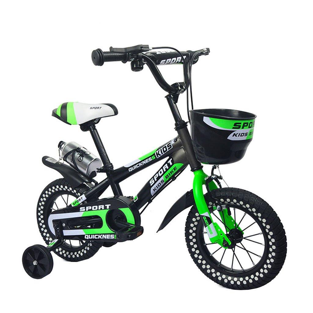 キッズ自転車バイク2-8歳の赤ちゃんの少女の自転車グリーン100キロ (サイズ さいず : 16inch) B07F2CT1XL 16inch 16inch