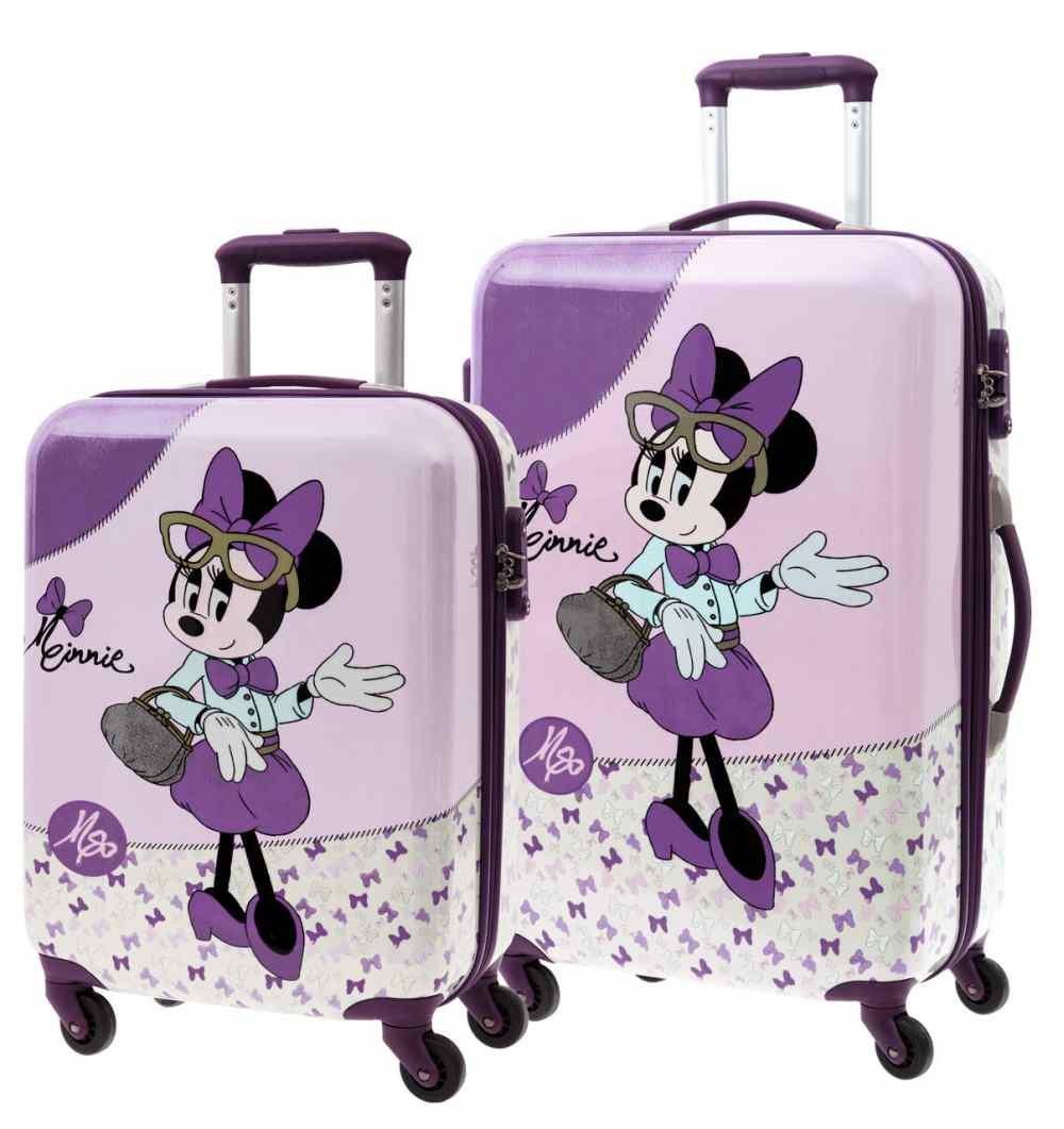 Disney Kofferset Minnie Kindergepäck, 97 Liter, Rosa
