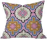 Deny Designs Pimlada Phuapradit Mirror Tiles Throw Pillow, 18 x 18