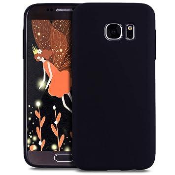 Compatible con Samsung Galaxy S6 Edge Funda Silicona Carcasa ...