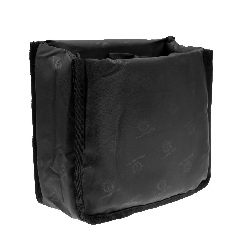 Gazechimp Bolsa Caja Cubierta Guarda DSLR Càmara Accesorios para Fotografia Ajustable Duradero de Espuma Plegable Organizador Deportes