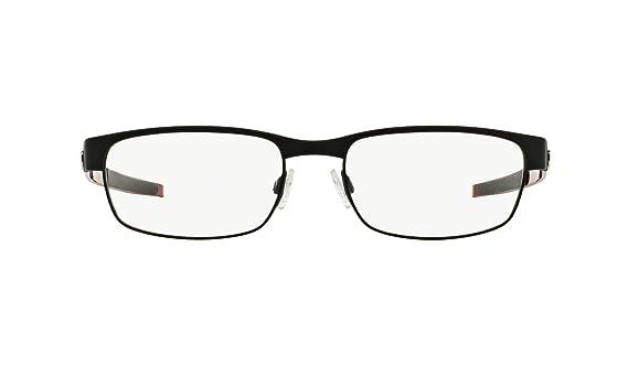 e89ea99e64 Amazon.com  Oakley Carbon Plate OX5079-0153 Eyeglasses Matte Black Clear  Demo 53 18  Oakley  Clothing