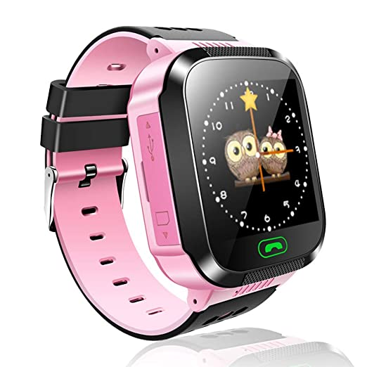 Kefaith Reloj Inteligente para niños, Reloj Inteligente con Juegos, Relojes Inteligentes para niñas, Niños Relojes Inteligentes para niños Regalos para ...