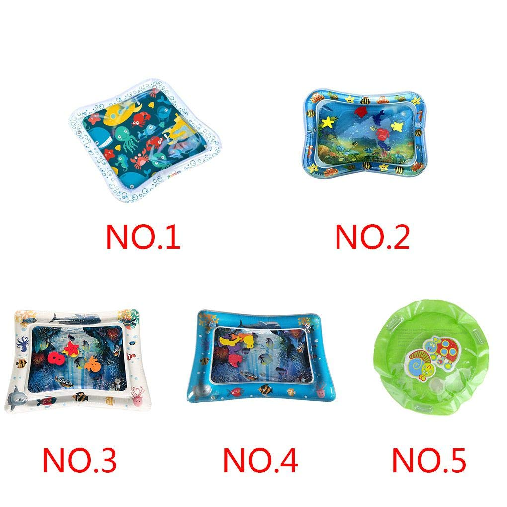 Baby Kids Water Play Mat Inflatable Thicken PVC Infant Tummy Time Playmat Toddler Fun Activity Play Water Mat