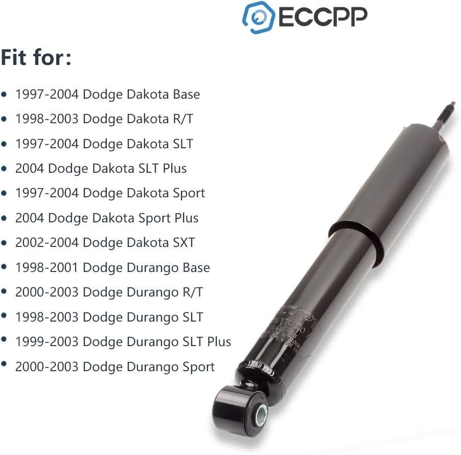 Shocks Struts,ECCPP Front Pair Shock Absorbers Strut Kits Compatible with 1998 1999 2000 2001 2002 2003 Dodge Durango,1997 1998 1999 2000 2001 2002 2003 2004 Dodge Dakota 344049 344379 37220 37140