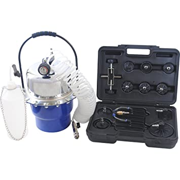 CCLIFE Purgador de frenos de aire y Embrague Hiidráulico de Tubo de Válvula comprimido Dispositivo de purgado de frenos 5L: Amazon.es: Coche y moto