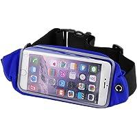 Westeng Cinturón Deportivo para Teléfono Móvil, Impermeable Riñonera para Correr Fitness Viaje Deportes y Aire Libre, Cinturón de Correr para Mujer y Hombre