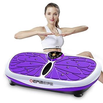 Plataformas vibratorias Placa De Vibración De Fitness Crazy Fit ...