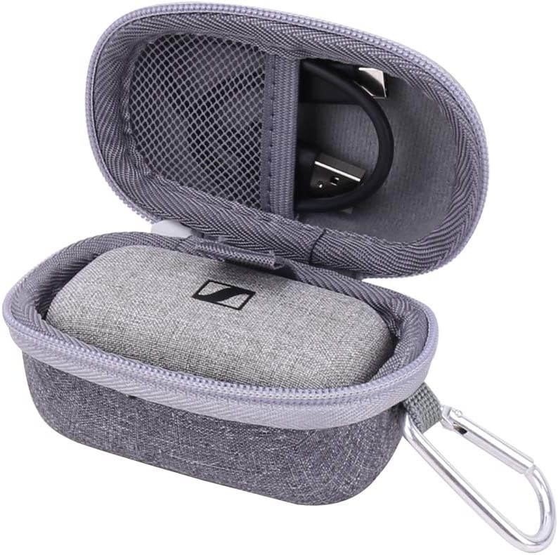 Aenllosi Hard Carrying Case for Sennheiser Momentum True Wireless Bluetooth Earbuds
