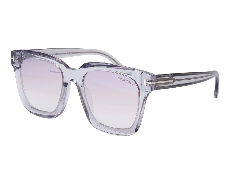 Authentic Tom Ford FT 0690 Sari 52F Dark Havana//Brown Shaded Mirror Sunglasses