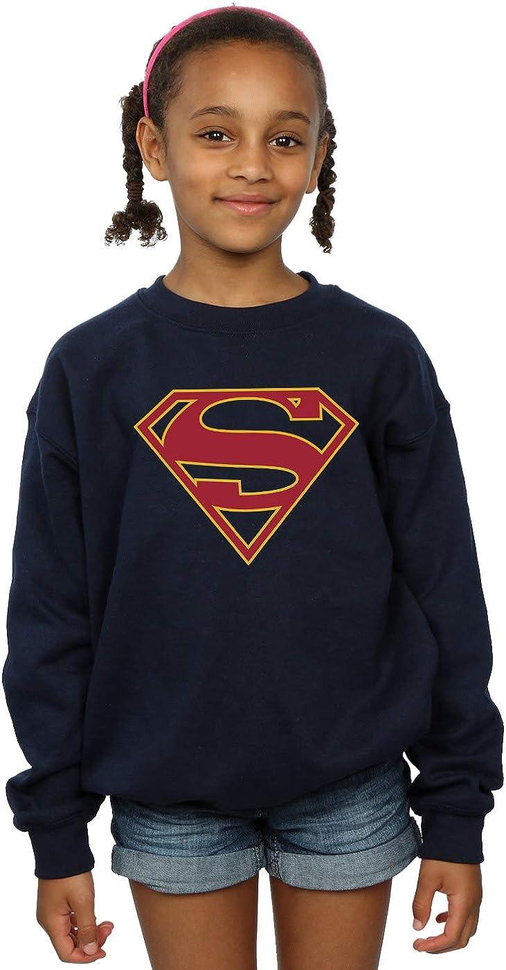 DC Comics Girls Supergirl Logo Sweatshirt