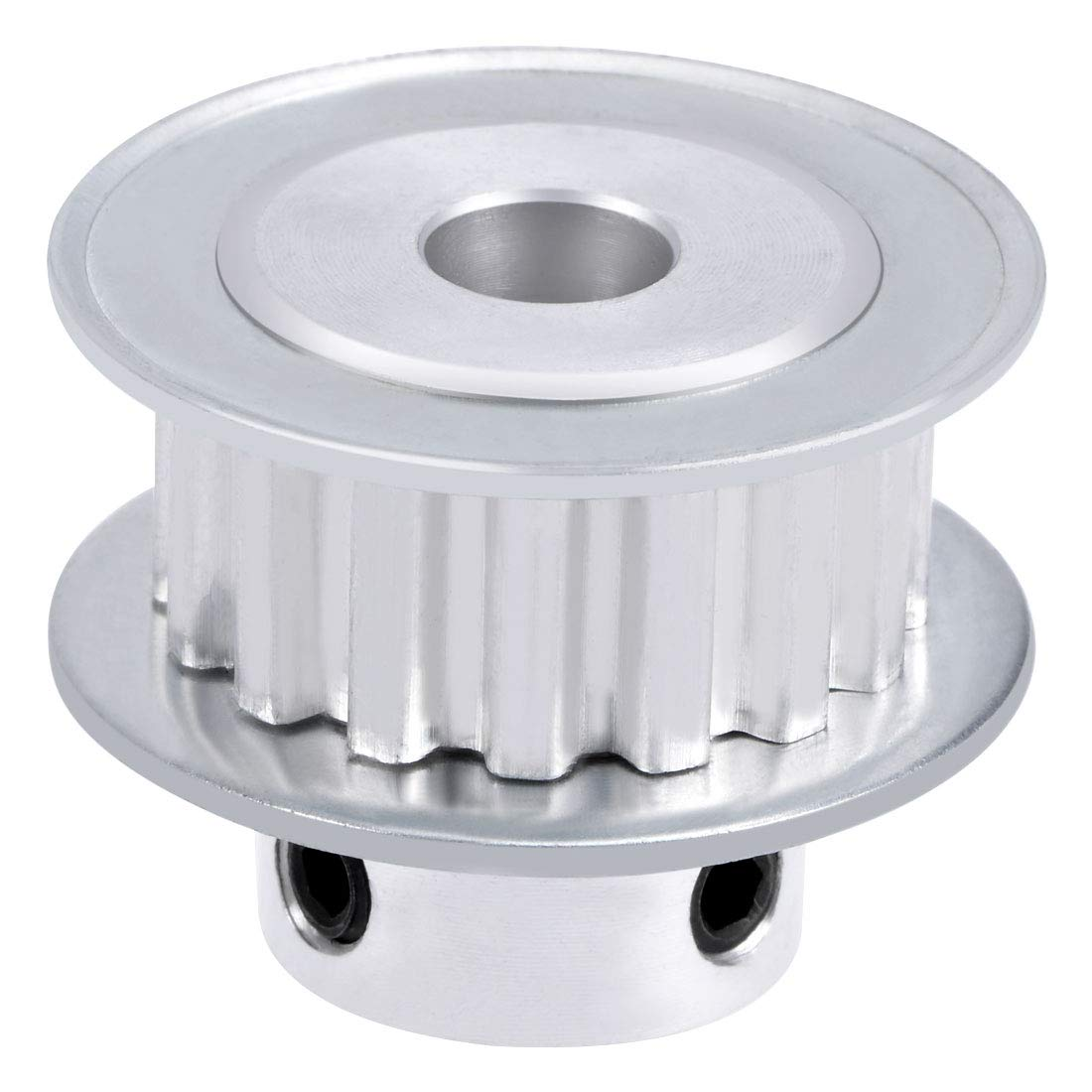 Uxcell Aluminum Xl 30 Teeth 8mm Bore Timing Belt Pulley Flange Pulleys Synchronous Wheel For 11mm
