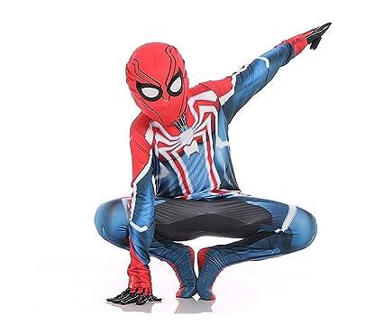 ZYFDFZ Traje de Cosplay de Spiderman Traje elástico para ...