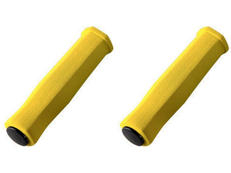 Puños de Espuma de Neopreno Ergonomicos Color Amarillo Alta ...