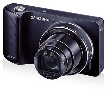 Amazon.com : Samsung Galaxy Camera 16 MP EK-GC120VRAMC4, 21 x ...