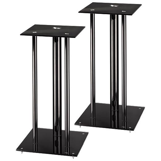 "26 opinioni per Hama ""Next"" Speaker Stand Black speaker mount- speaker mounts (30 kg, Black, 640"