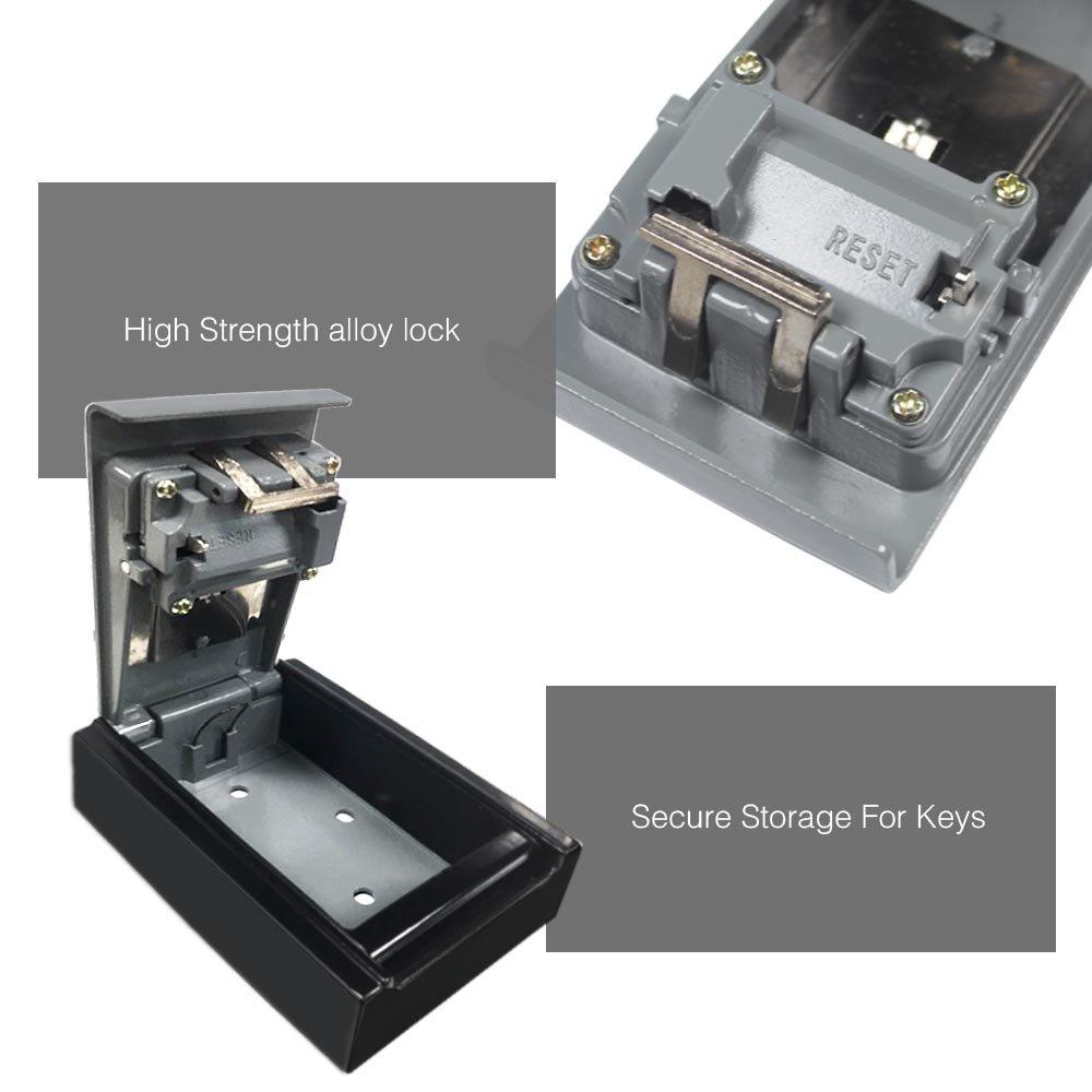 KINTRADE Cassetta per Le Lettere dellorganizzatore dello scaffale del Supporto di Chiave dei Ganci del Supporto della Parete del Gancio della Porta