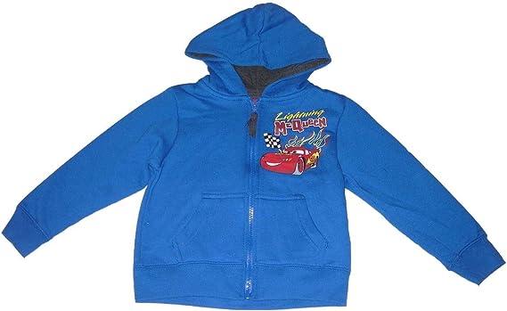 Disney Cars Boys Tracksuit Jogging Zipper McQueen 2-8 Blue 5-6 Years
