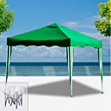 Deuba Pabellon de Jardin cenador Capri Marrón 3x3 m Carpa Plegable de jardín Impermeable y Pop Up para Eventos Camping: Amazon.es: Jardín
