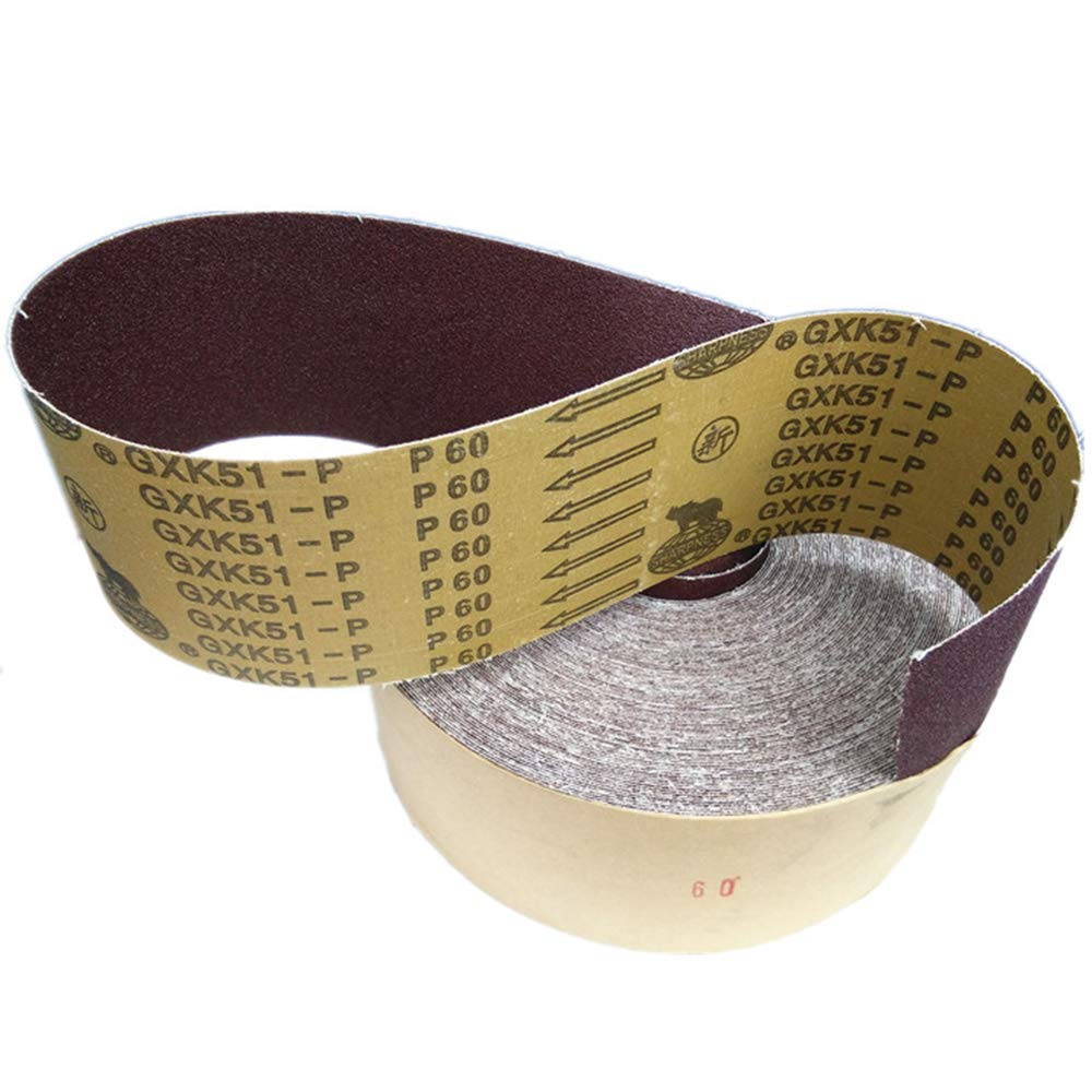 BOHENG Abrasive Cloth roll, Root Carved Wood Carving Abrasive Belt, Hard Cloth roll, Hand Tear roll, Polished and Polished, 36 mesh-600,p60