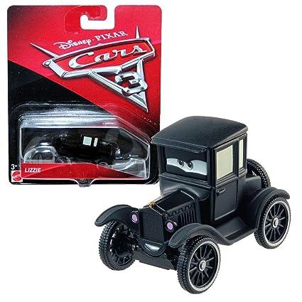 Cars 3-Coche Lizzie (Mattel FJH99)