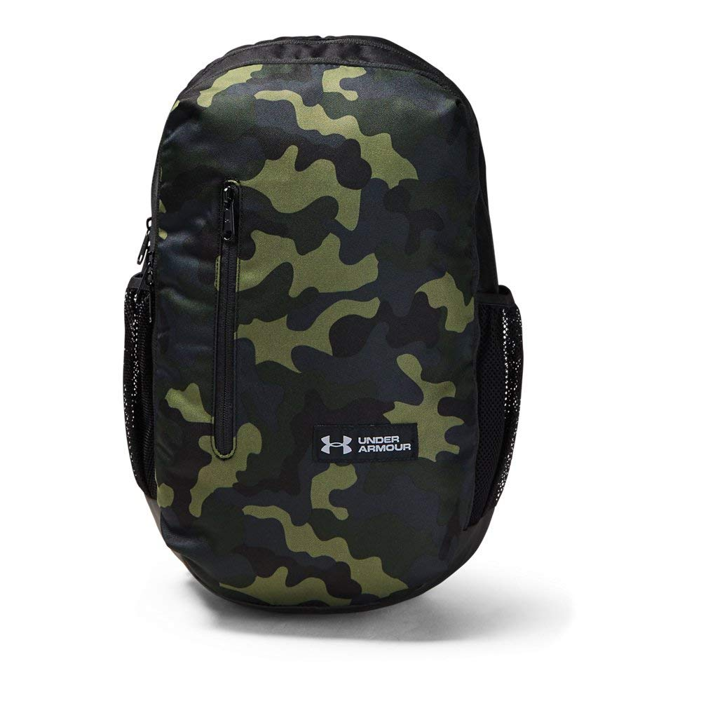 Under Armour Roland Backpack, Desert Sand (290)/Steel, One Size Fits All by Under Armour