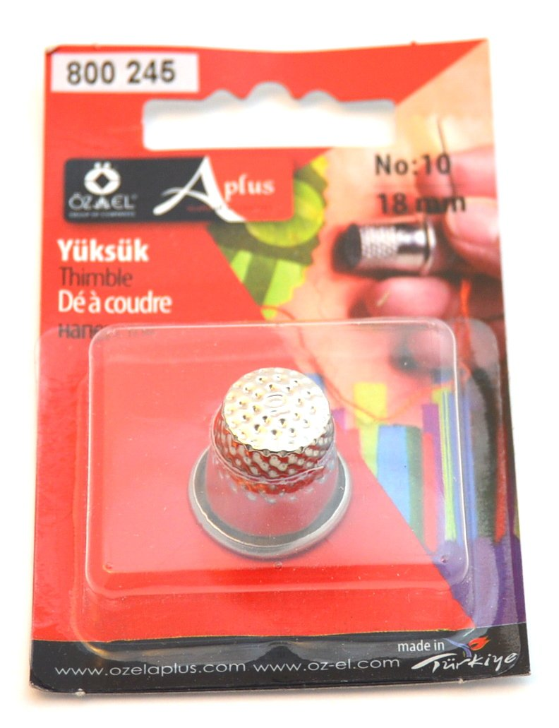 15 mm Ozelaplus Sewing Thimble-15mm-Silver