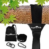 Zexmte Tree Swing Hanging Straps Kit Holds 2200...