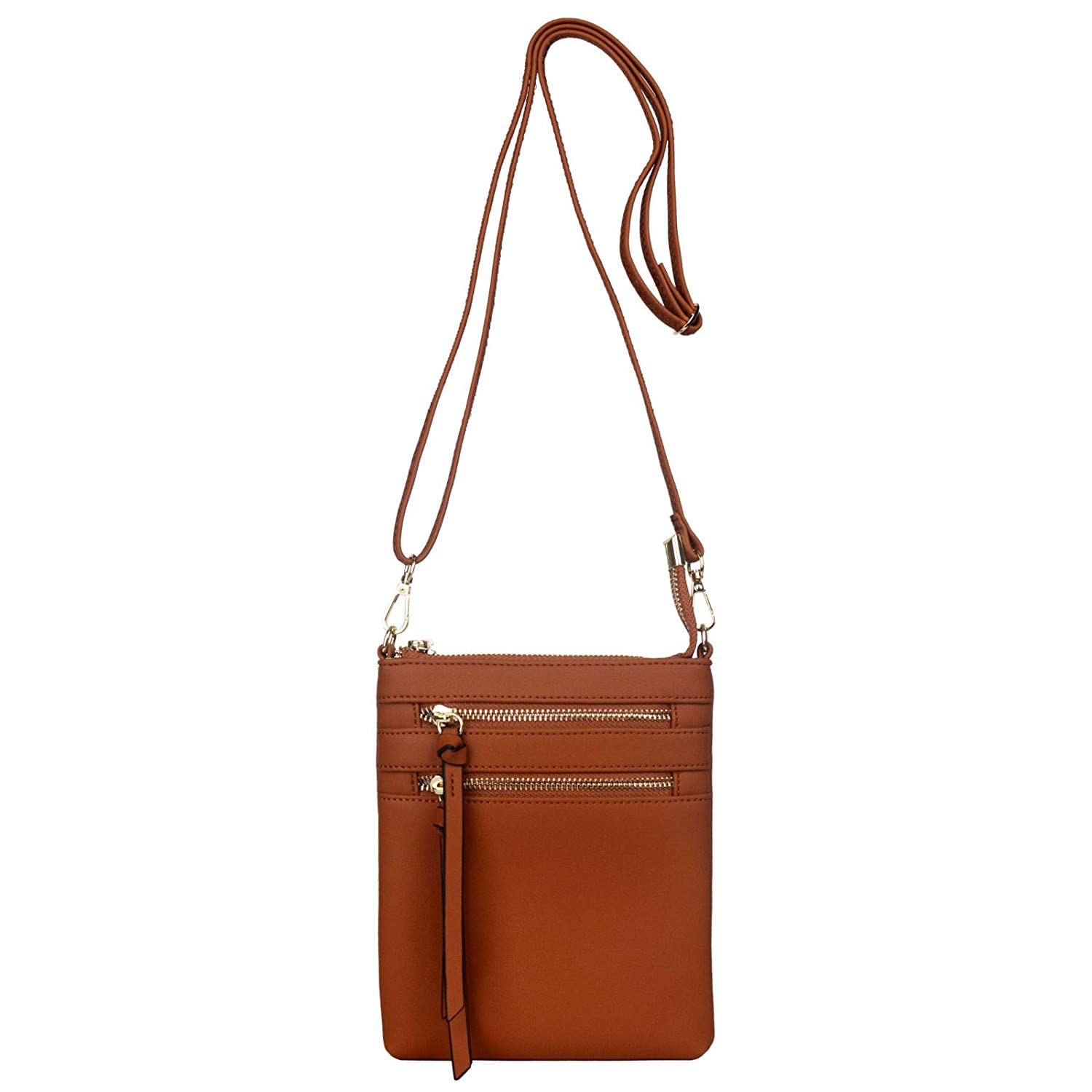 db20a75ee88 Crossbody Purses and Handbags for Women-Premium Small Faux Leather  Crossover Bag Over the Shoulder Womens