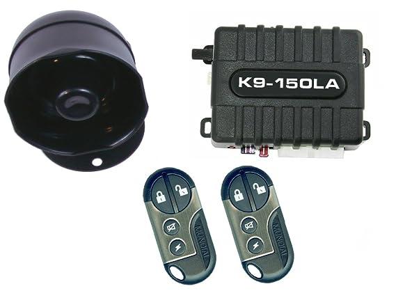 Amazon.com: K9 coche vehículo de alarma sistema de seguridad ...