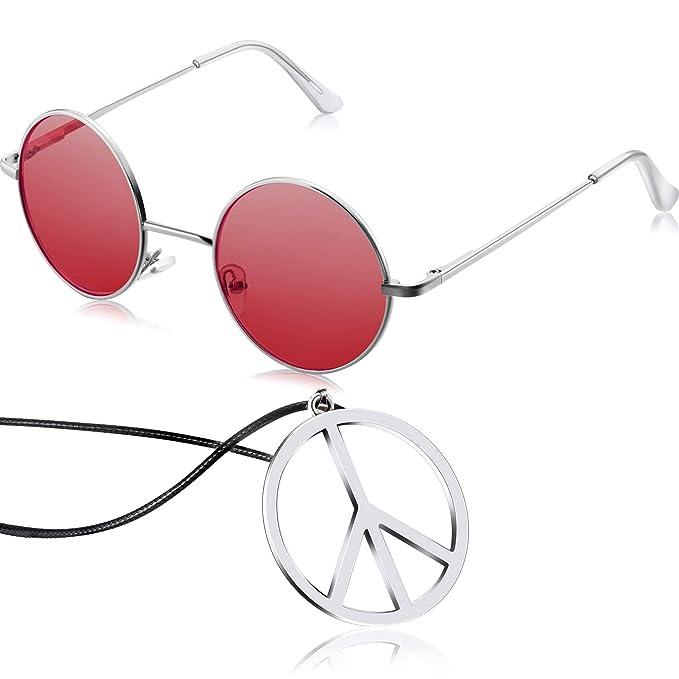 Amazon.com: Hippie - Juego de accesorios para vestir, diseño ...