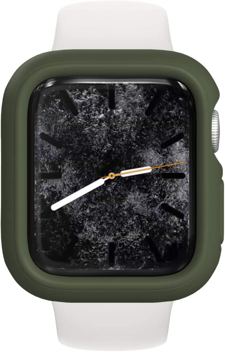 RhinoShield Bumper Case Compatible with Apple Watch SE & Series 6/5 / 4 - [44mm] | Slim Protective Cover, Lightweight and Shock Absorbent - Camo Green