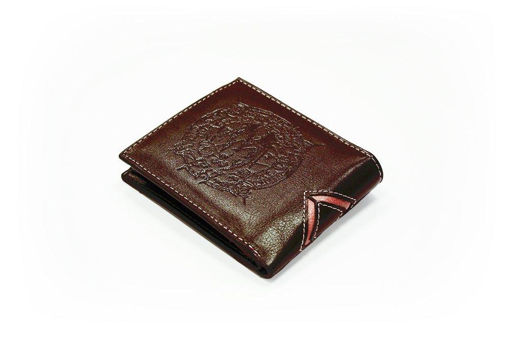 The Elder Scrolls Coin Pouch Window Pocket Tri-Fold Skyrim Faux Leather Wallet