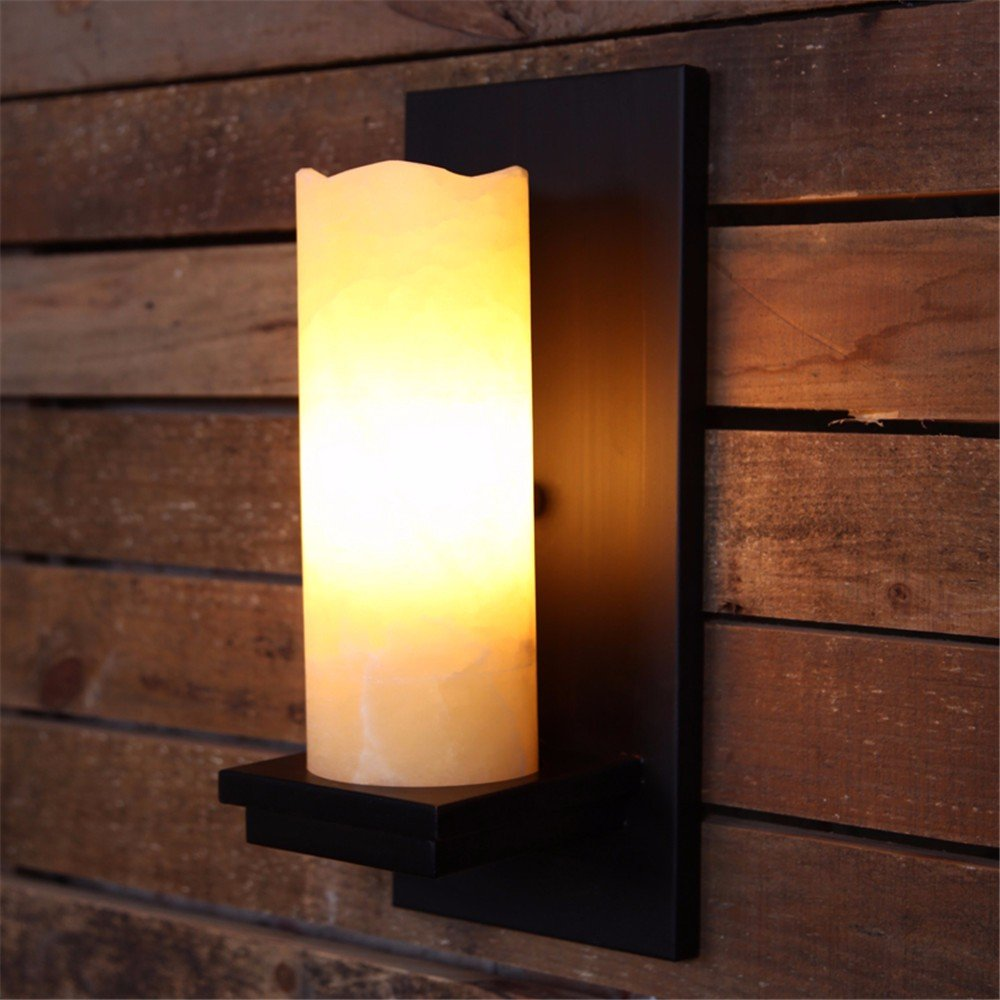 Anbiratlesn Modern Wandleuchten E27 Antik Wandlampe Vintage Rustikal Wandlampe für Schlafzimmer Wohnzimmer Bar Flur Badezimmer Küche Balkon Innen Lampe Retro Tv Schmiedeeisen Gang Wandleuchte