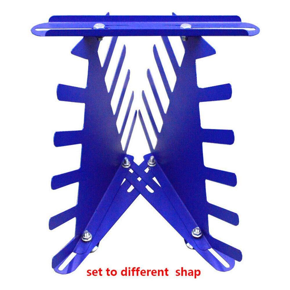 5 Layer Spatulas Holder Desktop Squeegee and Ink Scraper Rack Shelving Tool Rack US Shipping Screen Printing Squeegee Rack