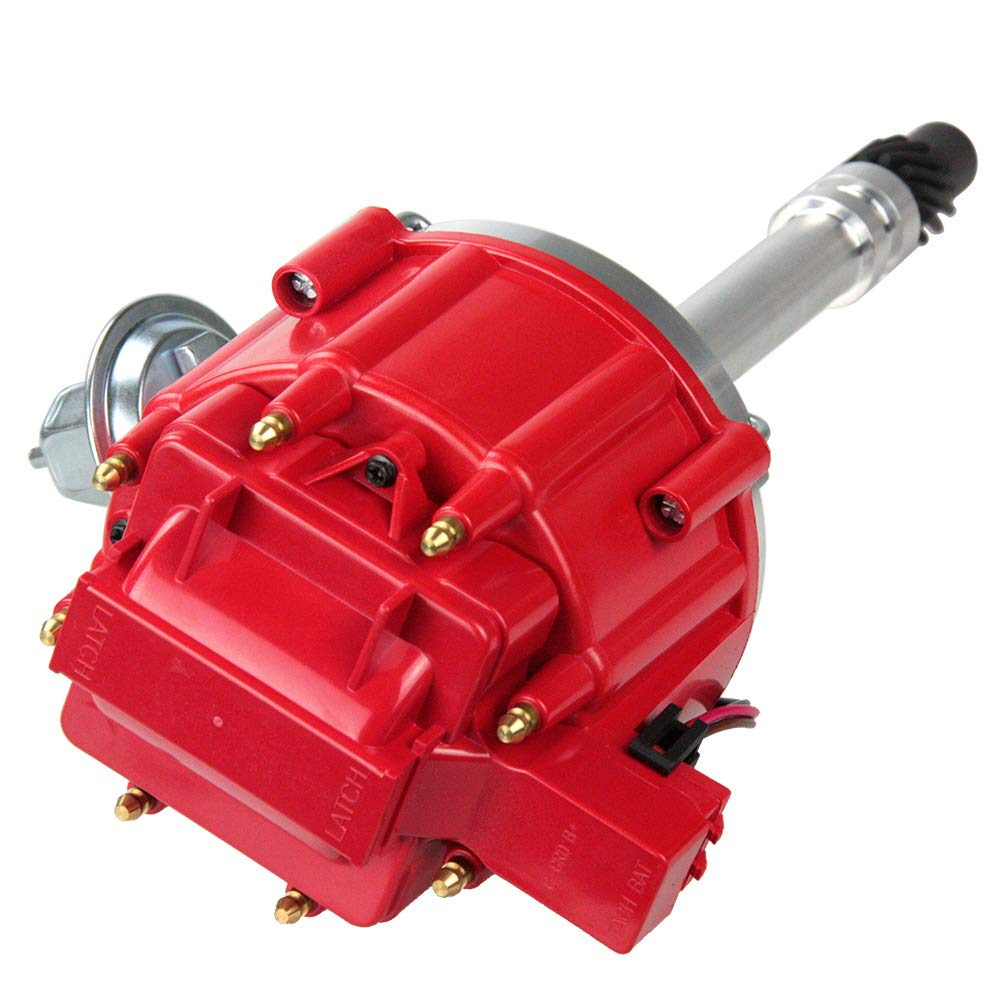 Performance Hei Ignition Distributor Compatible with Chevy GM SBC BBC 9000RPM V8 65k Coil 283 305 307 327 350 400 Small Blocks and 396 427 454 Big Blocks