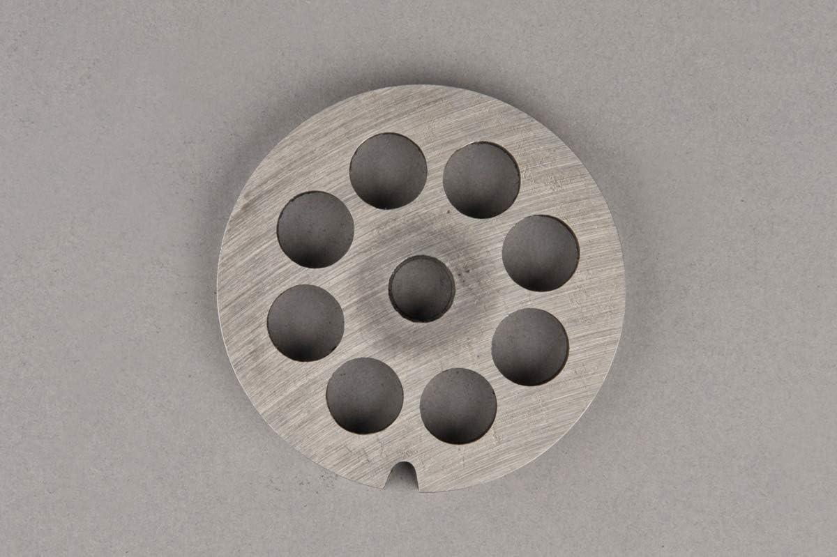 Grille Plaque pour Hachoir /à Viande N/° 10 Diam/ètre des Trous: 13 mm