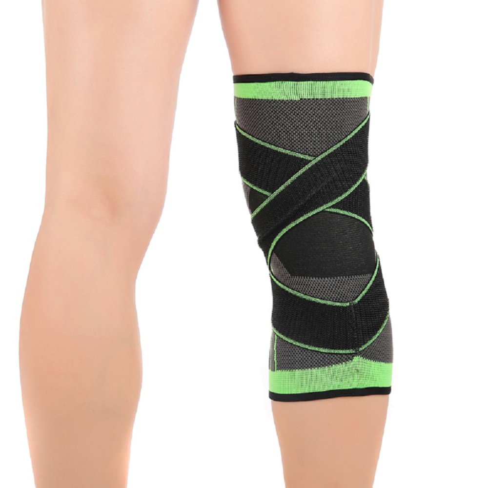 Knee Brace,Conlink Compression Support Knee Sleeve with Adjustable Strap Knee Pad for Pain Relief, Meniscus Tear, Arthritis, ACL, MCL,Suit for Running, Cycling, Tennis, Golf and Basketball by Conlink (Image #7)