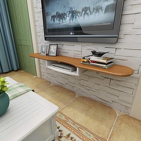 TV Rack Mueble de Televisión Montado en la Pared Consola de TV Estante de Pared Flotante, 140 cm: Amazon.es: Deportes y aire libre