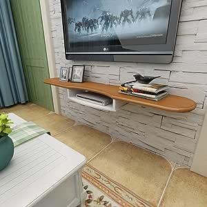 TV Rack Mueble de Televisión Montado en la Pared Consola de TV ...