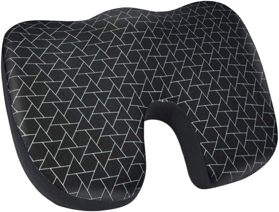 AmazonBasics Memory Foam Seat Cushion - Triangle, U-Shape