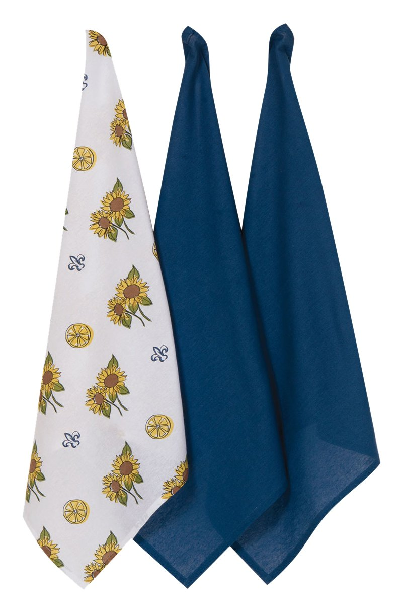 Other kitchen dining bar kay dee designs a8331 tuscan sun flour sack towels set of 3 was Kay dee designs kitchen towels