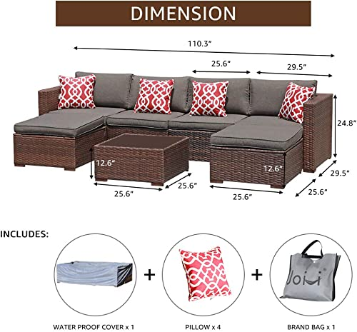 JOIVI Outdoor Furniture Set