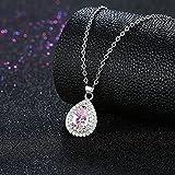The Starry Night Pink Gemstone Zircon Fashion