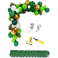 Safari Tropikal Yapraklar Temalı Zincir Balon