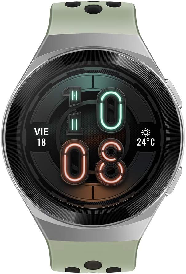 Huawei Watch GT 2e Active - Smartwatch de AMOLED pantalla de 1.39 pulgadas, 2 semanas de Batería, GPS, Color Verde (Mint Green) 46 mm (55025279)