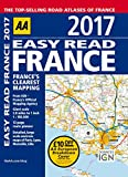 AA Easy Read France 2017 (AA Road Atlas) (Easy Read Guides)