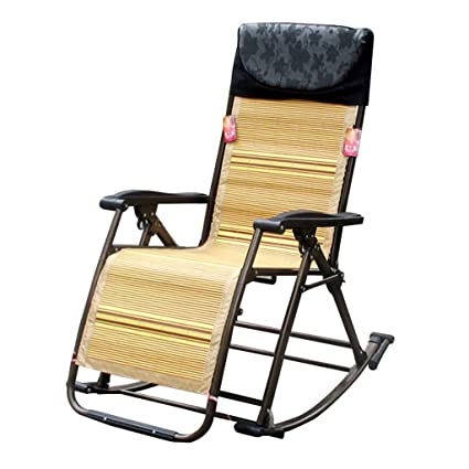 Astounding Amazon Com Qi Peng Rocking Chair Adult Recliner Balcony Ncnpc Chair Design For Home Ncnpcorg